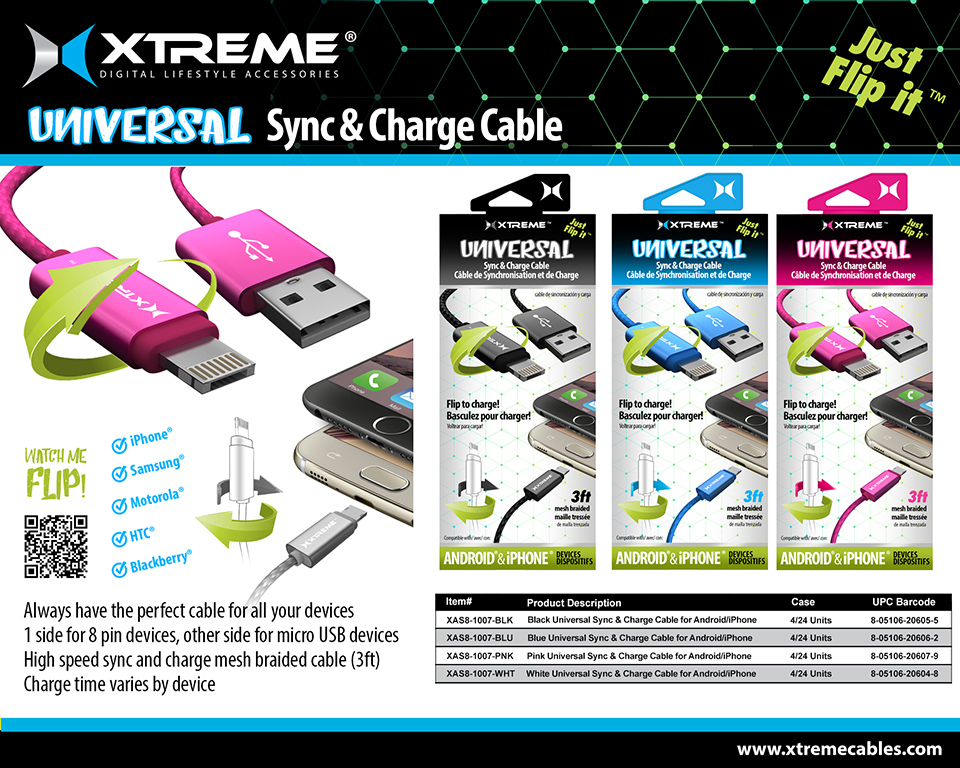 Universal Sync & Charge Cable