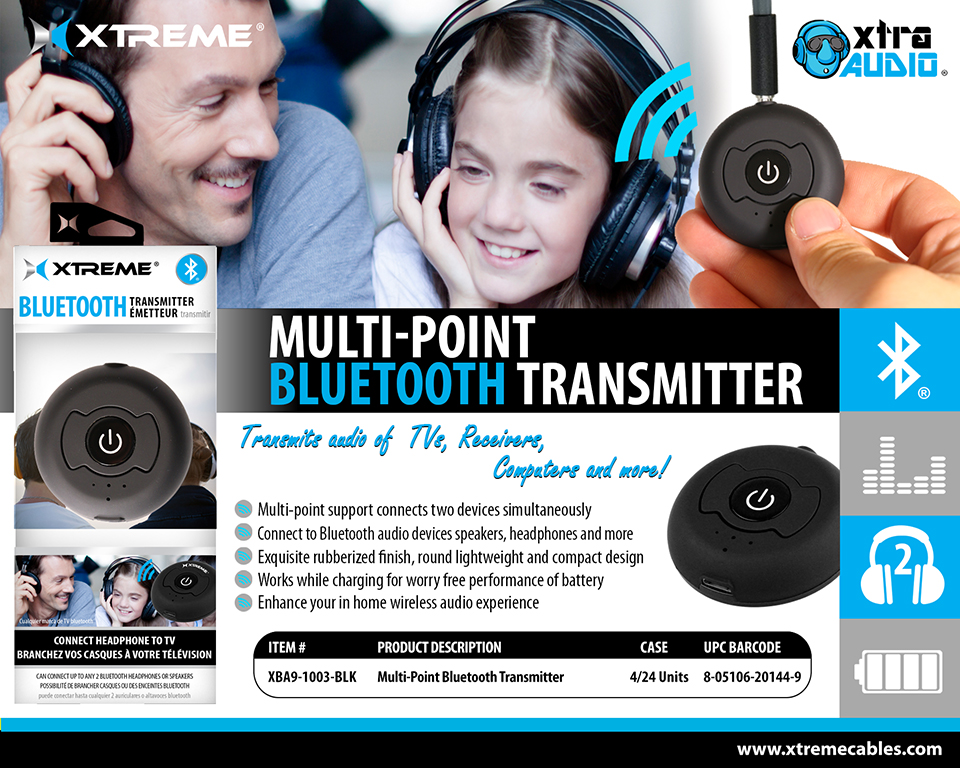 Multi Point Bluetooth Transmitter